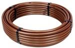 Linia kroplująca podziemna z kompensacją ciśnienia, rozstaw emiterów: 33cm, przepływ 2.3l/h, brązowa, rolka 100m (XFS2333100)