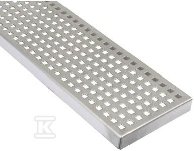 Ruszt do kanałów przemysłowych typ PRYSZNICOWY , gładki K=250 kg, 194x 1000 mm