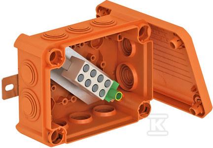 Puszka odgałęźna FIREBOX E90,wymiary 150x116x67 , typ T 100 ED 10-5 A