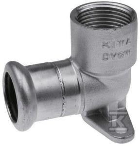"""Podejście pod baterię z uszami KAN-therm Inox - 22 x 3/4"""""""