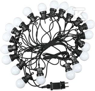Girlanda LED VT-71020 20 źródeł światła RGBY 0.5W 10M 24V IP44