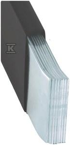 Szyna miedziana MOFLEX TIN 40x1x8, 320mm2, In=1237A, 2m  MMT0400801