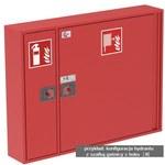 Hydrant modułowy, czerwony, 78X78X25, - 15696