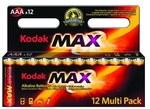 Bateria alkaliczna KODAK MAX K3A-12 (LR3)