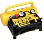 Kompresor bezolejowy Stanley 5L, 8 bar.