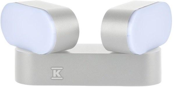 Kinkiet LED VT-814 12W 1320lm 3000K IP65 biały