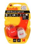 Lampki rowerowe Kodak zestaw 2 szt. 6lm.