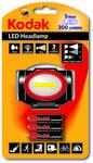 Latarka czołowa Kodak LED 5W 300 lm+ 3 baterie KAAA