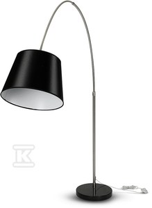 Lampa podłogowa VT-7451 czarna