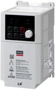 Falownik M100 zasilanie 1x230VAC, wyjście 3x230VAC 3x230VAC, 0,4kW, 2,4A - LSLV0004M100-1EOFNA