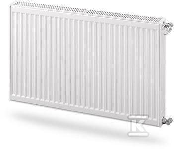 Grzejnik PURMO C21S 400x1400, moc grzewcza: 1348W (75/65/20°C), grzejnik stalowy płytowy z podłączeniem bocznym, typ PURMO Compact, kolor biały RAL9016