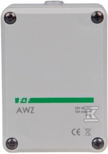 Automat zmierzchowy z wewnętrznym czujnikiem światłoczułym AWZ Un=24V~ Io<16A montaż natablicowy