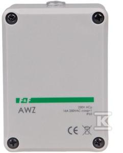 Automat zmierzchowy AWZ I=16A, obudowa hermetyczna, zintegrowana puszka przyłącza IP65