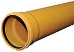 Rura kanalizacyjna zewnętrzna PVC 110x3.2x500 SN8 klasa S lita