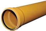 Rura kanalizacyjna zewnętrzna PVC 160x4.7x1000 SN8 klasa S lita
