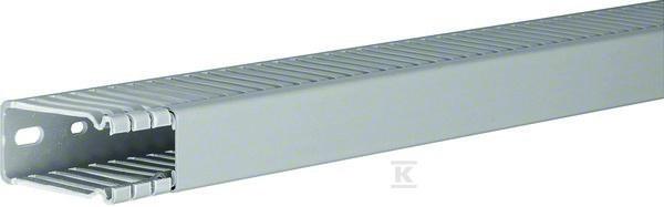 Kanał grzebieniowy BA6 60x25, szary /2m/