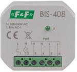 Przekaźnik bistabilny, podtynkowy, do podświetlanych przycisków, montaż podtynkowy BIS-408