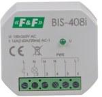 Przekaźnik bistabilny, podtynkowy, do podświetlanych przycisków z przekaźnikiem inrush 160A/20ms BIS-408-LED