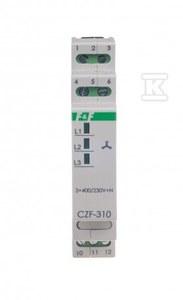 Mikroprocesorowy czujnik zaniku i asymetrii fazy CZF-310-TRMS