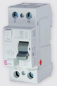 Wyłącznik różnicowoprądowy EFI6-P2 AC 40/0.03