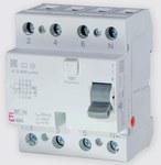 Wyłącznik różnicowoprądowy EFI6-P4 AC 25/0.03