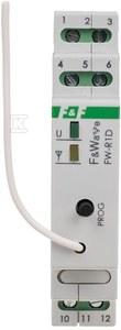 Radiowy pojedyńczy przekaźnik bistabilny - montaż DIN 85÷265V AC/DC