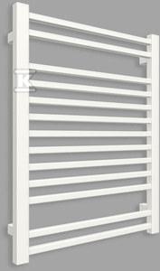 Grzejnik łazienkowy BONE 760/600, moc grzewcza (75/65/20): 384W, rozstaw: 560mm, typ podłączenia: SX, kolor: biały RAL9016, wymiary[mm]: H=760, L=600, D=40