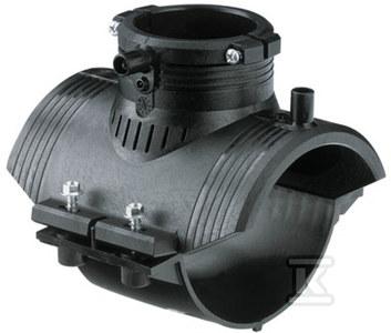 Obejma siodłowa elektrooporowa DN110X63 PE100, SDR11, PN10 gaz/PN16 woda