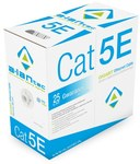 Kabel F/UTP kat.5e LSOH 4x2x24AWG 305m 25 lat gwarancji, badanie jakości laboratorium INTERTEK (USA)