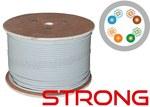 WZMOCNIONY kabel U/UTP kat.5e PVC 4PR 500m STRONG - 25 lat gwarancji, badanie jakości laboratorium INTERTEK (USA)