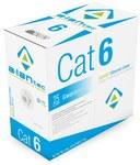 Kabel U/UTP kat.6 LSOH 4x2x23AWG 305m 25 lat gwarancji, badanie jakości laboratorium INTERTEK (USA)