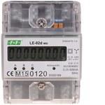 Licznik energii elektrycznej LE-02d - trójfazowy, wyświetlacz LCD, kl.1, 3x230,400V, 3x5(63A) obudowa 5 modułów