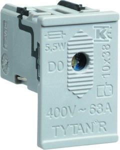Szufladka do rozłącznika bezpiecznikowego listwowego L063M D01/D02 6szt. /6opk/