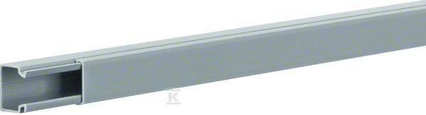 Kanał elektroinstalacyjny PVC 20x20mm, szary /2m/