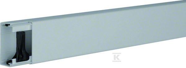 Kanał elektroinstalacyjny PVC 30x60mm, szary /2m/
