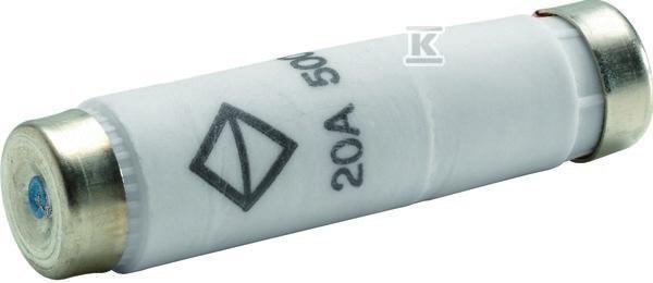 Wkładka bezpiecznikowa NDZ DI/E16, wykonanie zwłoczne gG 20A 500VAC