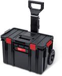 System pojemników narzędziowych, skrzynka z kółkami 38 l + przgródka z organizerem [expert]