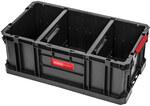 System pojemników narzędziowych, otwarta skrzynka 26 l, 2 regulowane przegrody [expert]