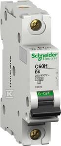 C60H Wyłącznik nadprądowy, 16A, charakterystyka B, 1-polowy