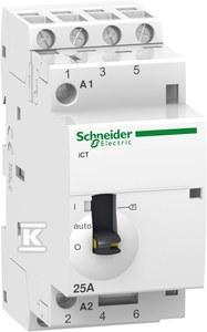 Stycznik modułowy iCT50r25-40-24 25A 4NO 50/50Hz 24 VAC