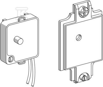 Klucz do wyłącznika krańcowego bezpiecznikowego XCSZ32