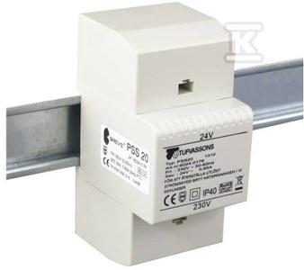 Transformator jednofazowy PSS 10T 230/ 24V IP30 na szynę DIN TH-35 w obudowie modułowej z zabezpieczeniem