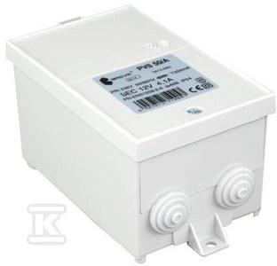Transformator jednofazowy PVS 50 230/12V IP54 obudowany z zabezpieczeniem