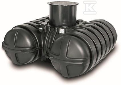 Zbiornik PEHD podziemny na deszczówkę TWINBLOC 5000 l