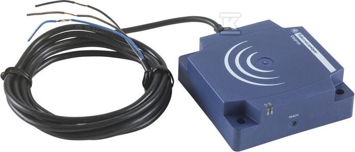 Czujnik indukcyjny plastikowy 1NC, 24..240V AC/DC, kabel 2m