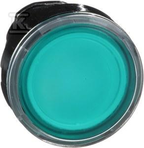 Napęd podświetlany przycisku led kolor zielony ZB4BW333