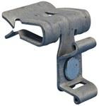 Zacisk 4H58CT element prowadzenia oraz łączenia kabli i przewodów grubość półki: 8-14mm