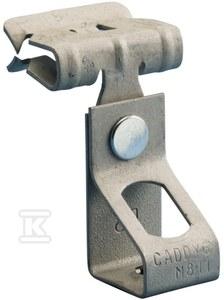 Zacisk M6TI24 element prowadzenia oraz łaczenia kabli grubość półki: 3-8mm