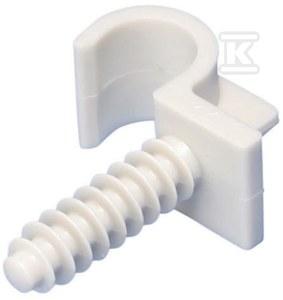 Zacisk ring FRF 018/1 z kołkiem średnica rurki 18mm