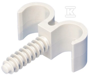 Zacisk ring FRF 020/2 z kołkiem średnica rurek 20mm